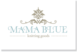 logo mama blue